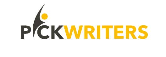 PickWriters logo
